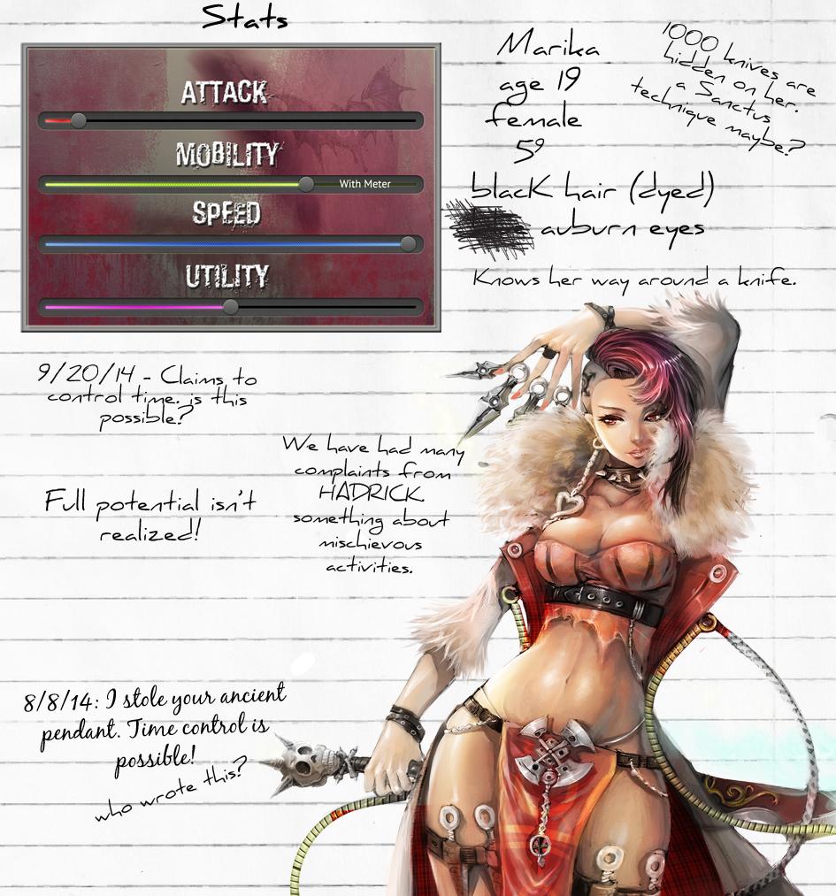 Marika notes