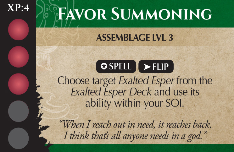 Favor Summoning