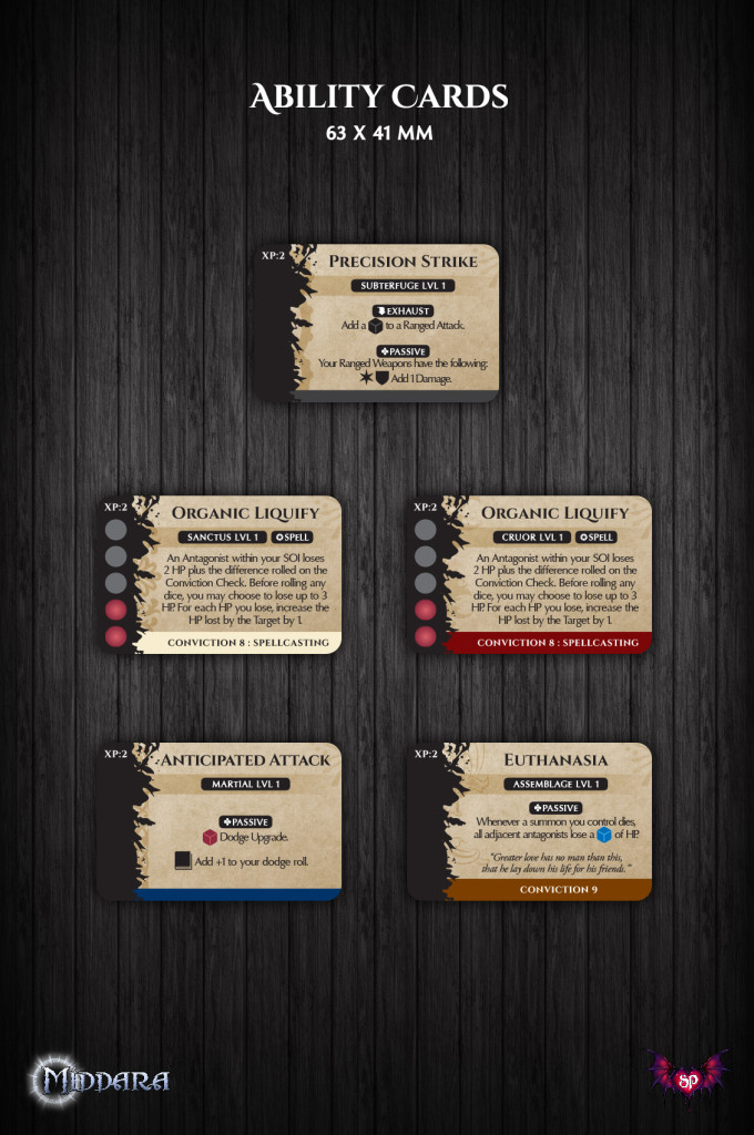 Ability Cards Example