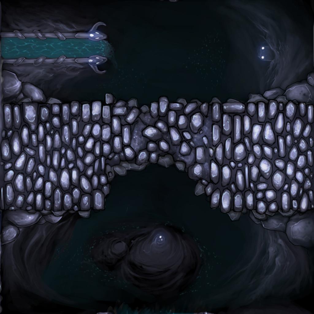 White Vaults Tile - Crumbling Bridge
