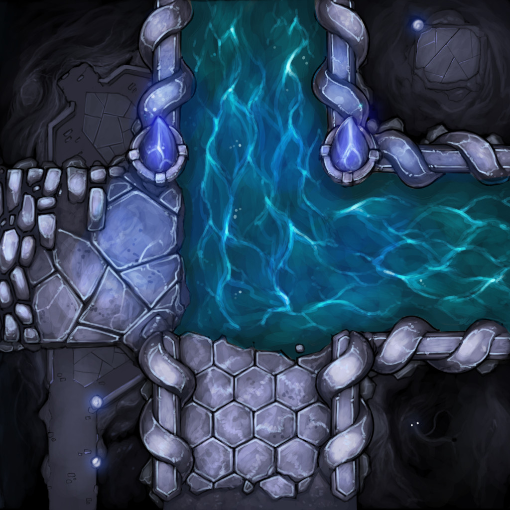 White Vaults Tile - Aqueduct Bend