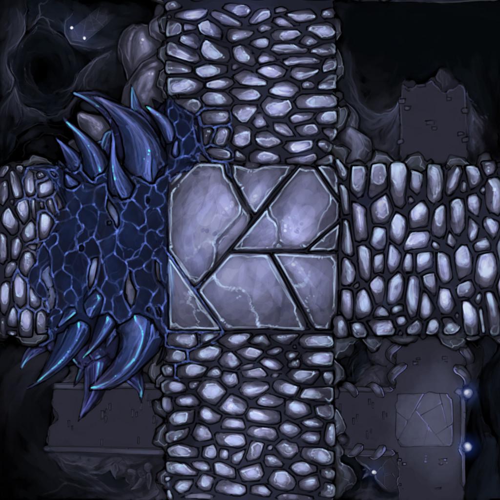 White Vaults Tile - Bridge Intersection