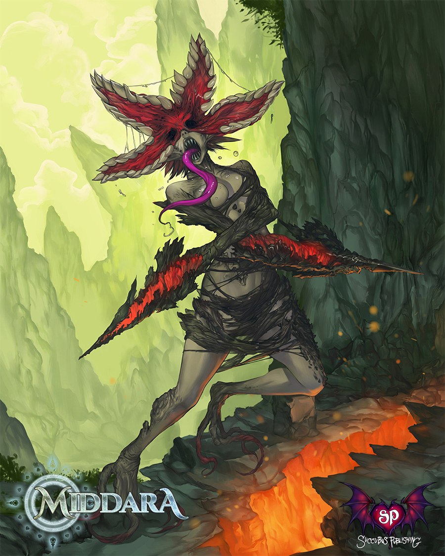 Female Blighted Guardian