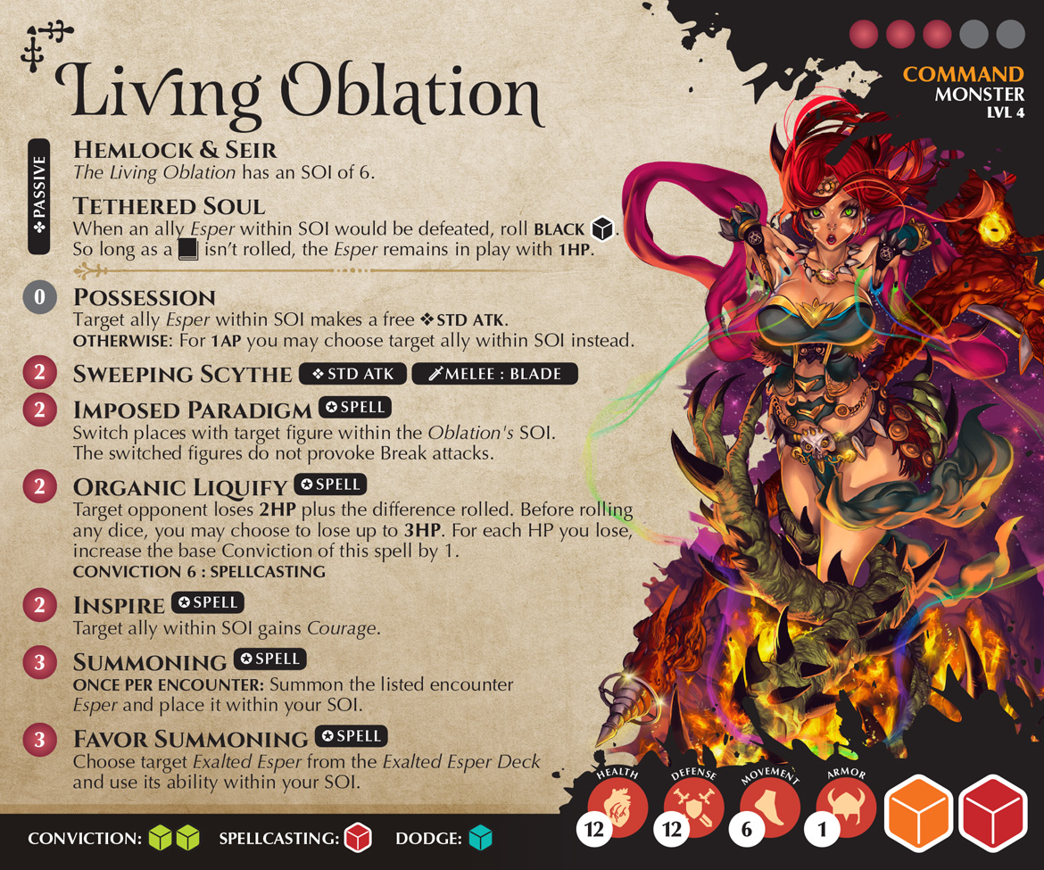 Living Oblation Command