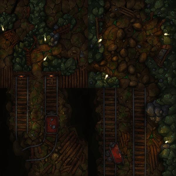 Four Mine Tiles