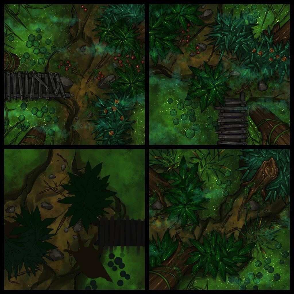 Swamp Set 2