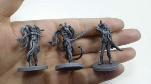 Miniatures with a Wash